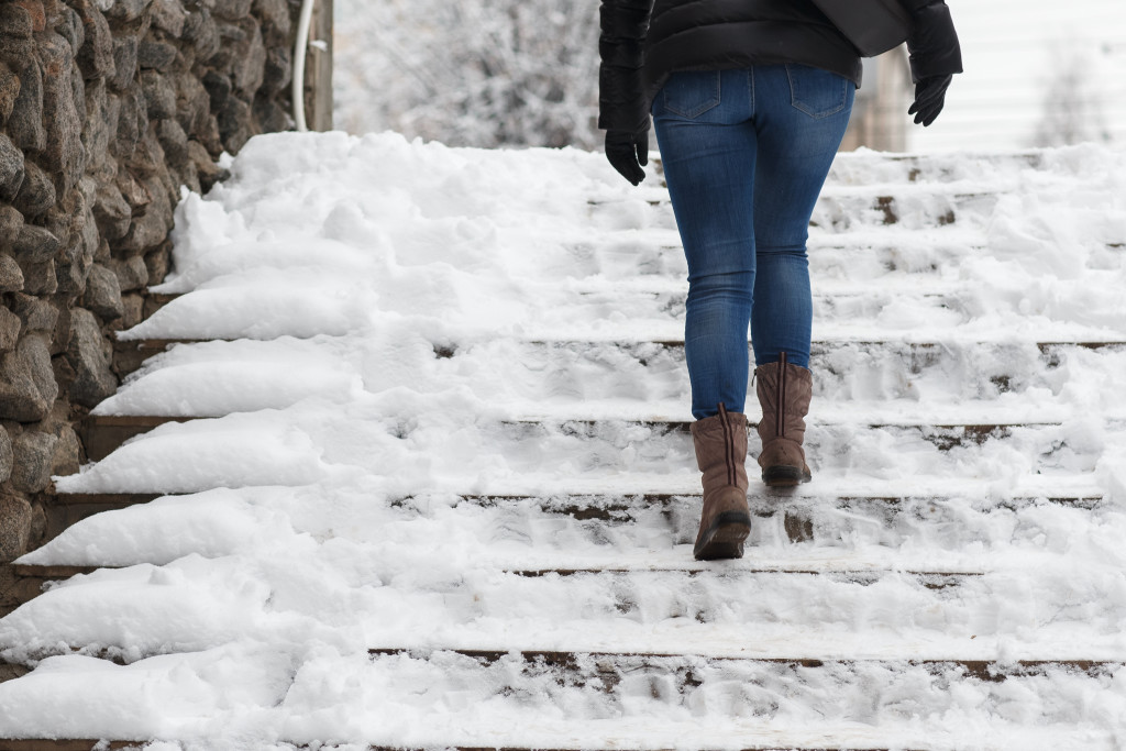 Preventing Slips Trips And Falls In Winter Weather