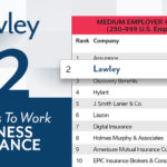 """Lawley Recognized as """"Best Place to Work in Insurance"""" By Business Insurance"""
