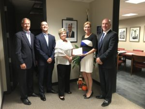Lawley's Amherst Branch named Western & Central NY Key Agency Partner of the Month in August by Travelers